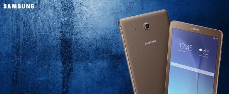Samsung Galaxy Tab E <br/> Stílusos és ergonomikus