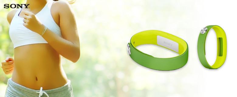 Brățară inteligentă Sony SmartBand SWR10, verde