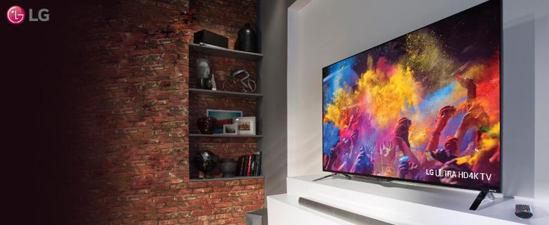 LG 40UF695V UHD SMART LED Televízió