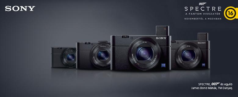 Sony RX100 sorozat - Bondnak készült