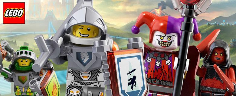 Ismerd meg a LEGO® NEXO KNIGHTS™lovagok világát!