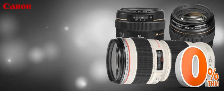 Canon objektívek 0% THM hitelre!