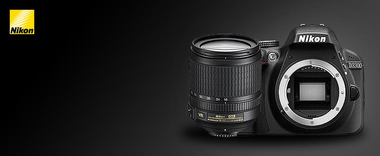 Nikon D3300 digitális fényképezőgép kit,  3 év garancia a vázra