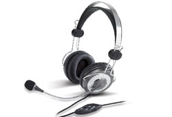 Genius HS-04SU mikrofonos fejhallgató