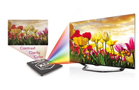 LG 32LB561B LED televízió Triple xd engine